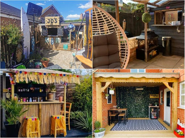 Residents across Northamptonshire shared with us pictures of their very creative DIY home bars.