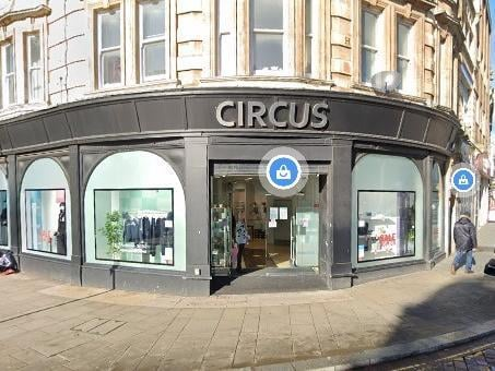 Circus in Northampton town centre. Photo: Google