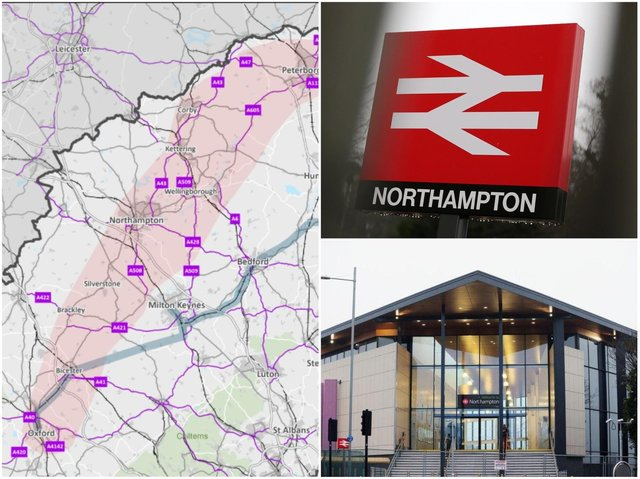 A consultation has been launched to scope out if a railway link should be created between Northampton, Oxford and Peterborough.