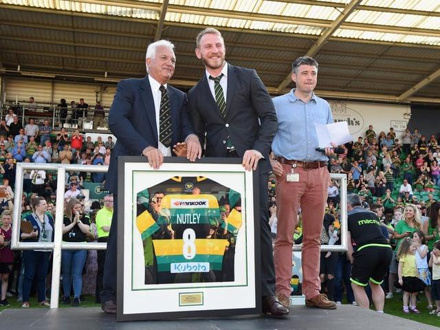 Ben Nutley left Saints in 2018