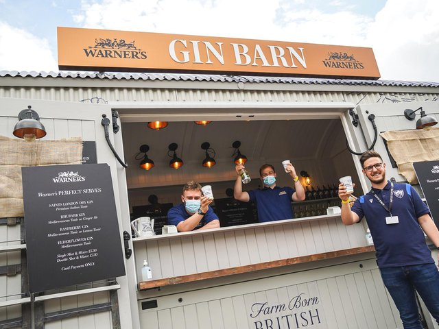 Warner's Gin Barn at Franklin's Gardens on Sunday, June 6 2021.