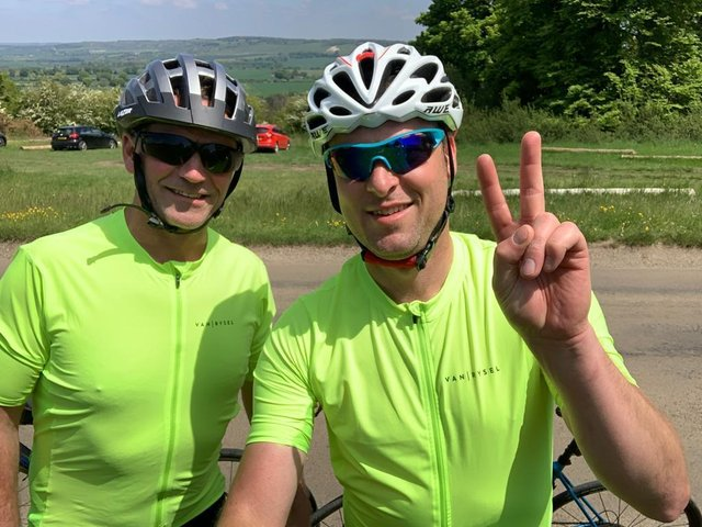 Ian Corkram and Jeff King will be riding from Milton Keynes to Lands End for Great Ormond Street Hospital