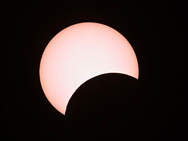 Up to 30 percent of the Sun will be obscured over Northamptonshire on Thursday morning