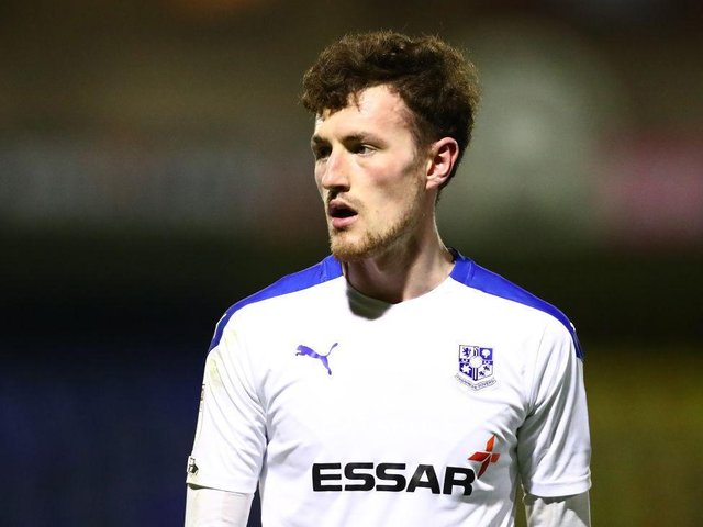 Paul Lewis played 53 games for Tranmere last season. Picture: Getty.