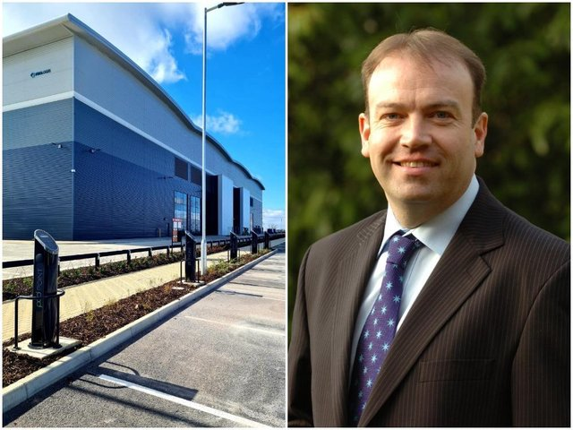 Daventry MP Chris Heaton-Harris welcomed Cummins opening a new logistics centre at Apex Park in the town