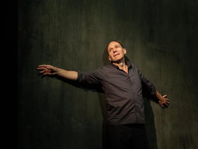 Ralph Fiennes in Four Quartets (photo: Matt Humphrey)