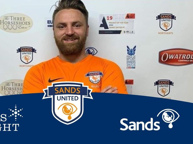 Rob Allen has been recognised for his work to set up Sands United FC.