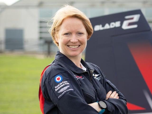 The Blades pilot Kirsty Murphy