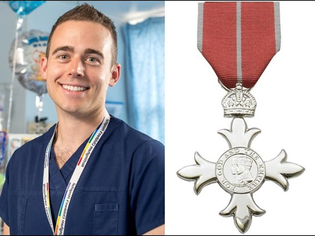 Dr Joseph Manning has been awarded an MBE.
