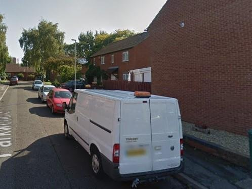 The incident happened at Hayley's family home in Parkwood Street