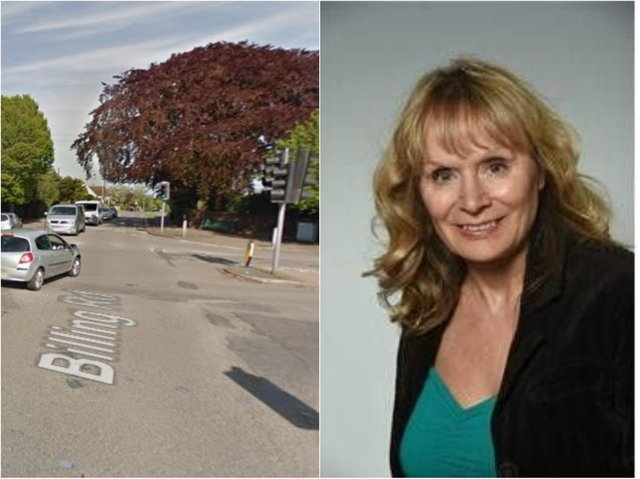 Julie Davenport is hoping to implement change at a busy Northampton junction.