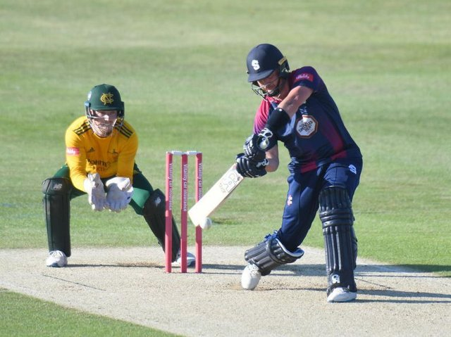 Skipper Josh Cobb has been named in the Steelbacks squad for Tuesday night's Vitality T20 Blast date with Birmingham Bears