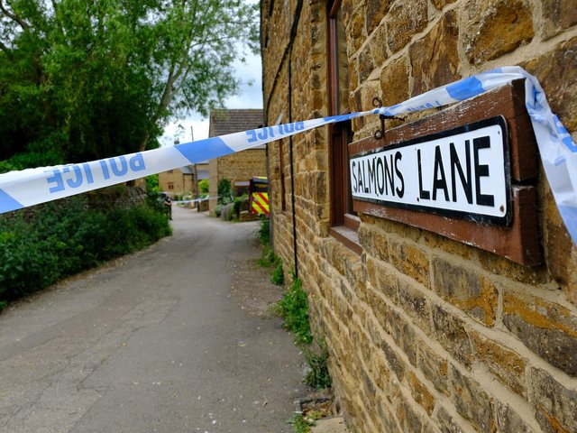 Police launched a major crime investigation after a man's body was found in Middleton Cheney last week
