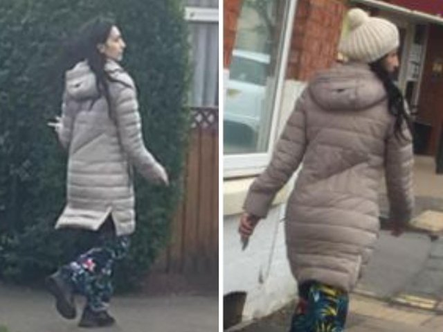 Have you seen this woman? Police want to speak to her in connection with a robbery in Kingsthorpe last month