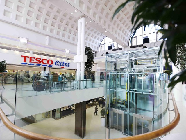 Weston Favell Shopping Centre has seen an increase in shoppers not wearing a face mask.