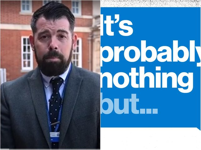 Detective Superintendent Lee McBride has launched the new modern slavery campaign.