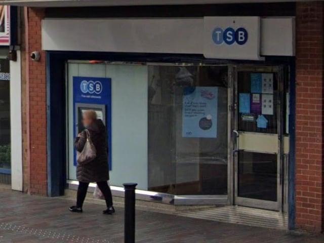 The TSB branch on Abington Street, Northampton. Photo: Google