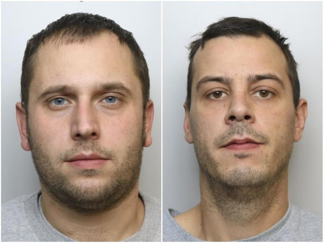 Juliano Racca and Ricky Randall targeted their victim through the dating app FabGuys with a plan to tie them up and rob them.