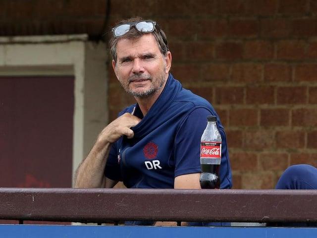 Northants Steelbacks head coach David Ripley