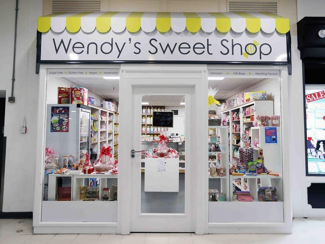 Wendy's Sweet Shop at Weston Favell Shopping Centre