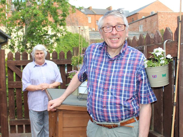 """""""It means the world to me,"""" says David, 78. """"I just love coming here."""""""