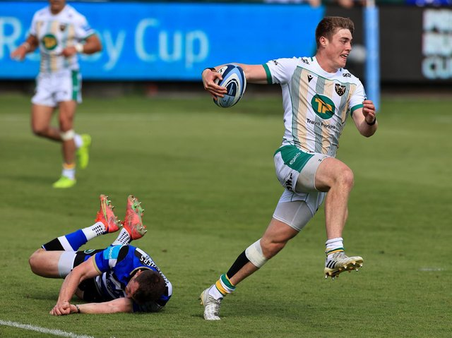 Tommy Freeman finished his fantastic season with an electric display against Bath