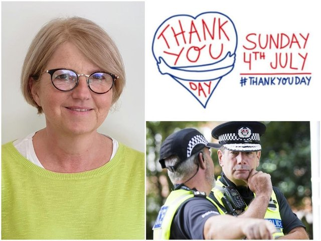 West Northamptonshire Council chief executive Anna Earnshaw and Northamptonshire Police Chief Constable Nick Adderley are among those backing Thank You Day on July 4