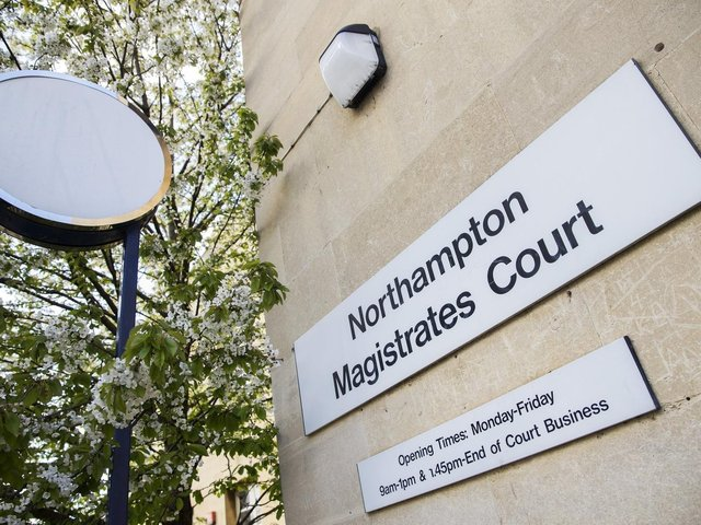 The case was heard at Northampton Magistrates' Court