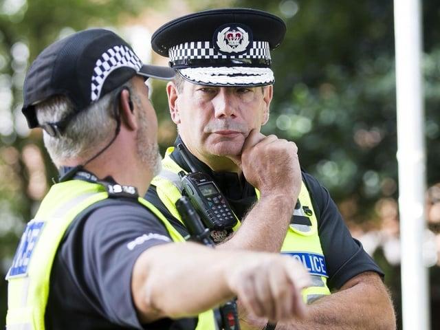 Chief Constable Nick Adderley