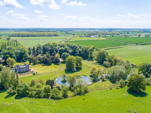 Stunning Pipewell Hall on the market for offer over 3.5 million. Listed by Fine and Country and marketed by Rightmove.