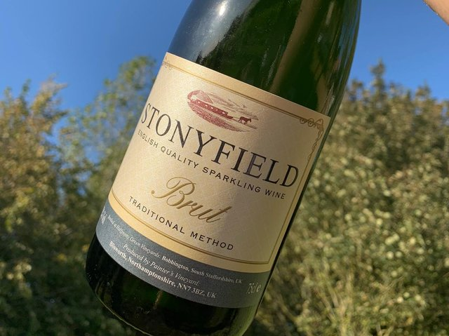 Stonyfield wine has won a gold medal.