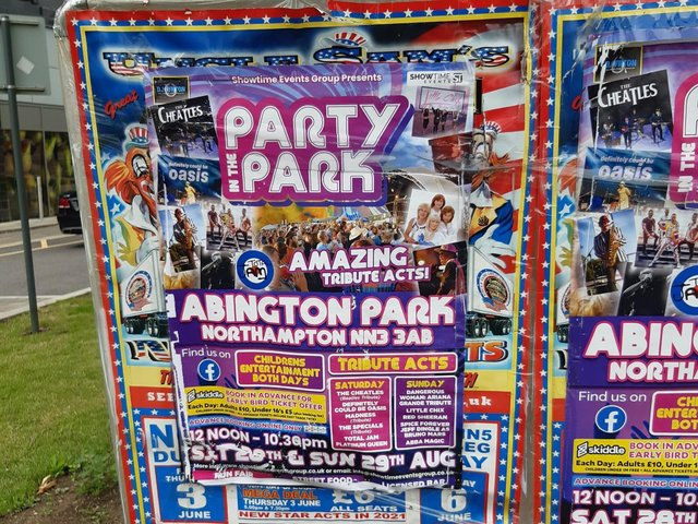Party in the Park is coming to Northampton