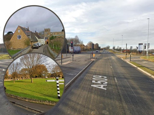 Lawrence did high speeds along Niort Way and through Earls Barton and Mears Ashby