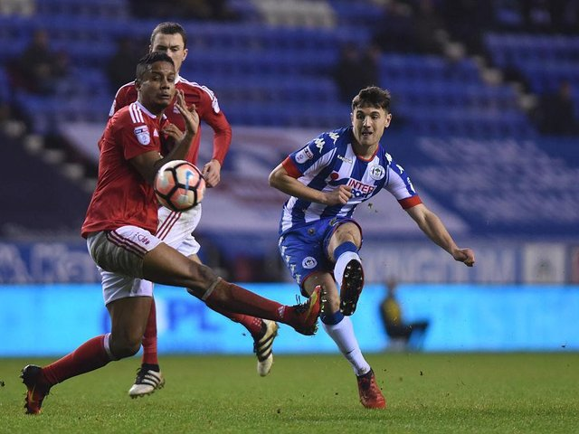 Jordan Flores impressed as a youngster for Wigan.