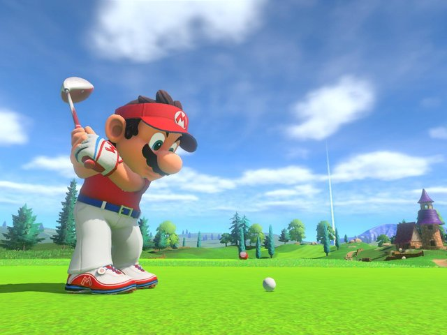 Mario Golf Super Rush is out now