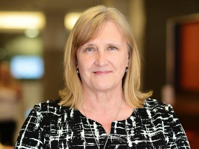 PIF chairman Sue Farrington