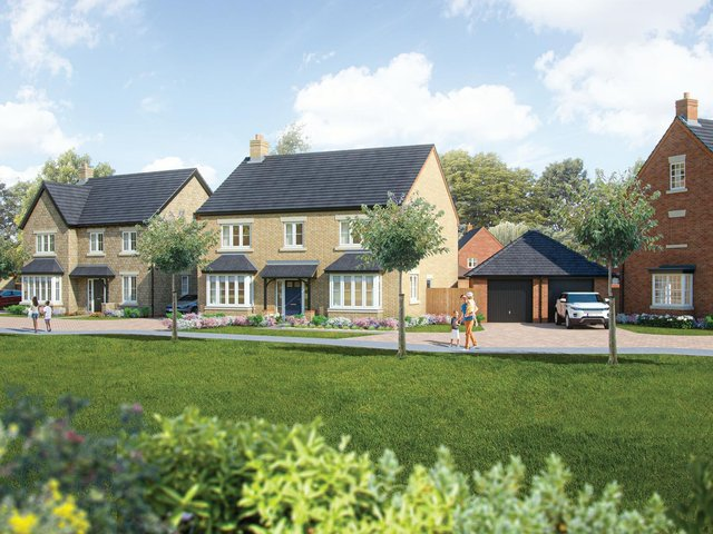 The Collingtree Park development will eventually deliver 1,000 homes alongside new neighbourhood facilities.