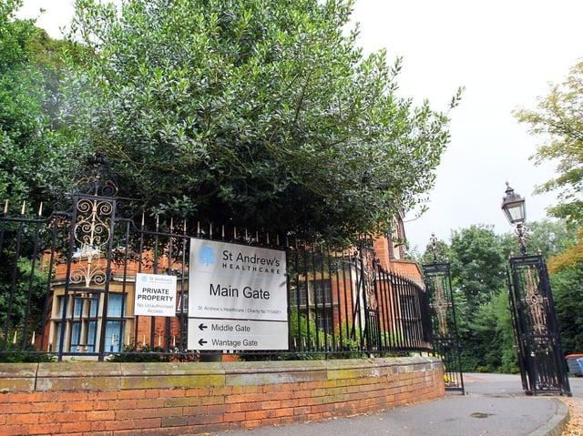 St Andrew's Healthcare on Billing Road, Northampton
