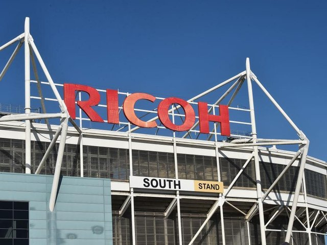 Ricoh Arena.