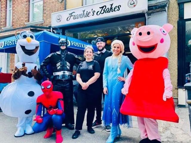 Frankie's Bakes on Harborough Road in Kingsthorpe.