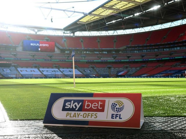 The League Two season starts next month and will end at Wembley in May.