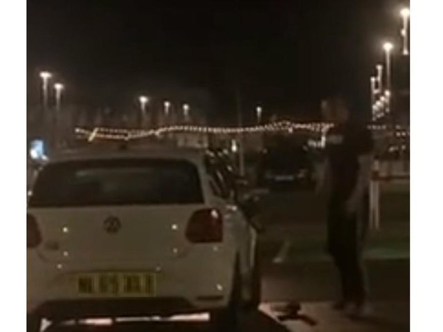 Police have released this image of a man, who may have information about the attack at Rushden Lakes.