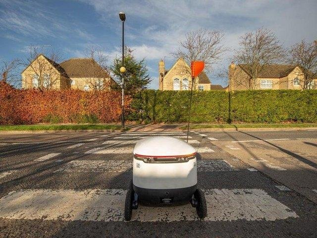 Starship Technologies' robot delivery service launched in Northampton in November, 2020