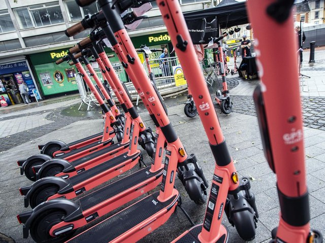 Voi scooters arrived in Northampton last year as an eco-friendly way of getting round town