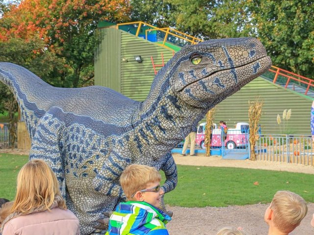 'Raptor' - One of the dinosaurs coming to Northampton town centre