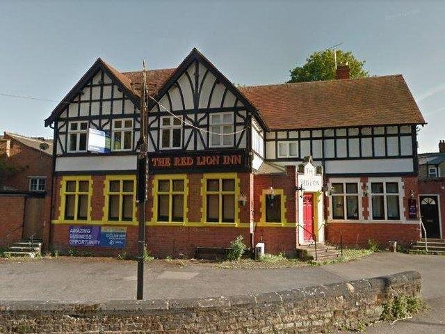 The old Red Lion Inn on Harborough Road, Brixworth. Photo: Google