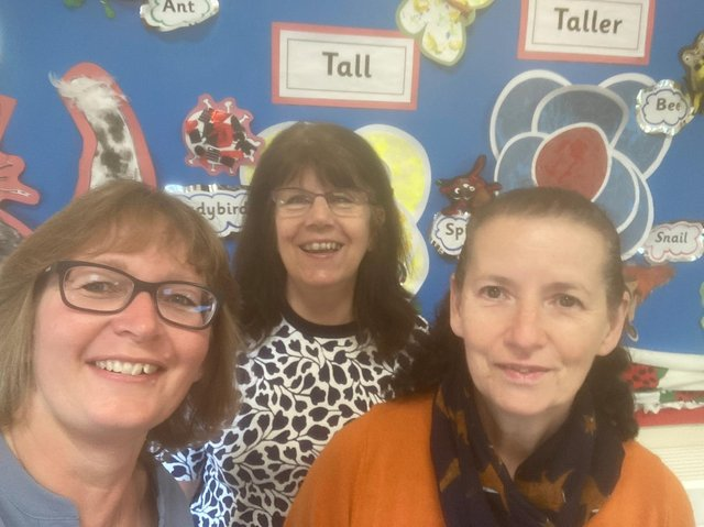 Owners of the playgroup. (Left to right): Carolyn Aindow, Sarah Prince and Diane Ridley.