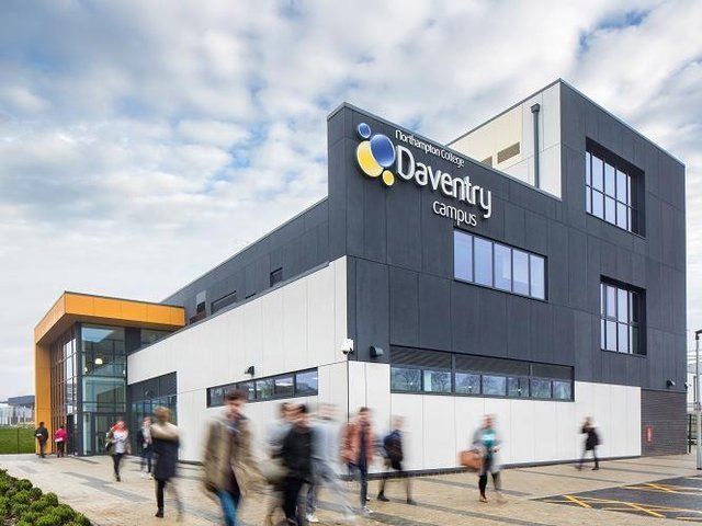 Northampton College's Daventry campus has benefitted from SEMLEP funding