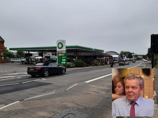 Simon Shardlow (right) won his bus lane fine appeal against West Northamptonshire Council