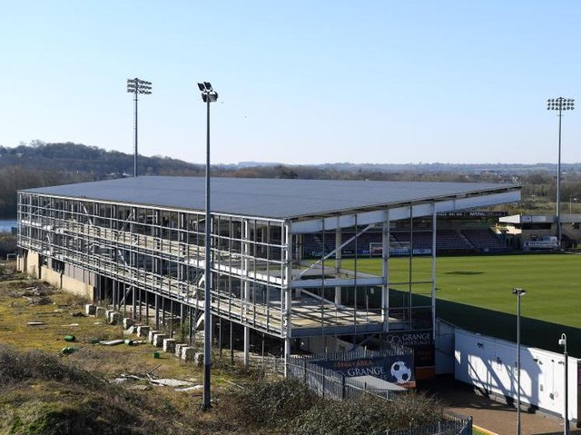 Borough council money loaned to Northampton Town was meant to pay for the new East stand at Sixfields